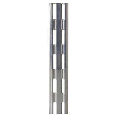 Rothley Twin Slot Shelf Upright - 1981mm - Krome