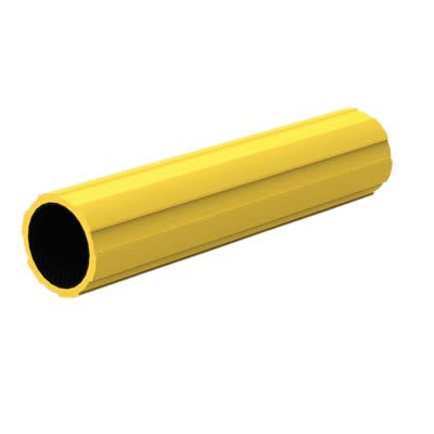 45mm FibreRail Tube - 900mm - Yellow