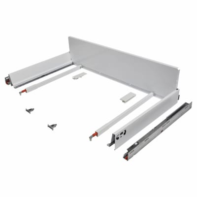 Blum TANDEMBOX ANTARO Pan Drawer - BLUMOTION Soft Close - (H) 203mm x (D) 500mm x (W) 900mm - White