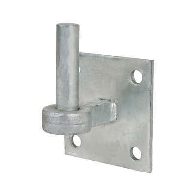Hook on Square Plate - 19mm Pin - Galvanised