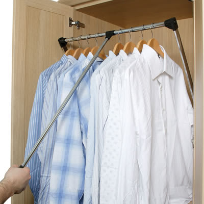 Wardrobe Rail - 800-1100mm