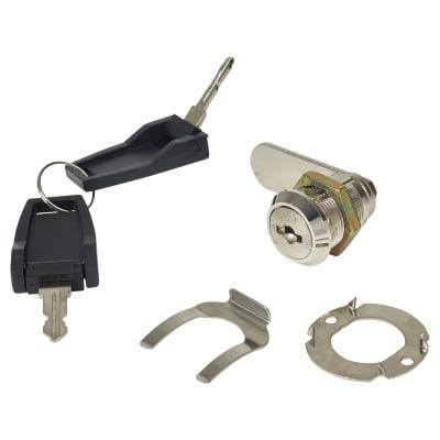 Cam Lock - 19 x 20mm - Nickel Plated - Keyed Alike Differ 1