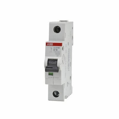ABB 16A 10kA Single Pole 3 Phase MCB - Type B