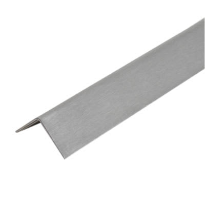 2000mm Angle - 32 x 32 x 0.91mm - Satin Stainless Steel