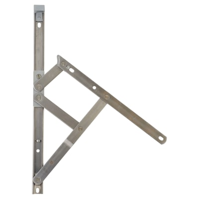 Securistyle Friction Hinge - uPVC/Timber - 300mm - Top Hung - Pair