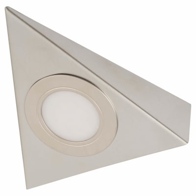 Sensio Bermuda LED Cabinet Light - Triangle - Cool White - Single