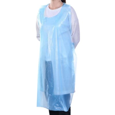 Waterproof Aprons - White - 720mm - Pack of 100