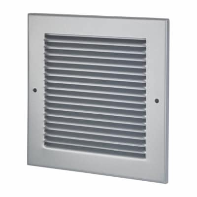 Lorient Vent Cover Grille - 190 x 190mm to suit transfer vent 150 x 150mm - Silver