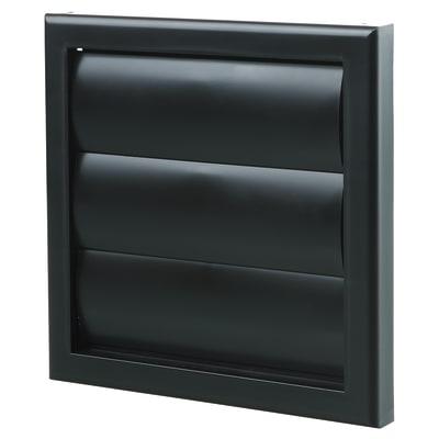 Blauberg Plastic Gravity Shutter - 100mm - Black