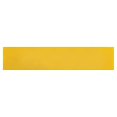 Hoppe Paris Coloured Nylon Self Adhesive Finger Plate - 75 x 350mm - Golden Yellow