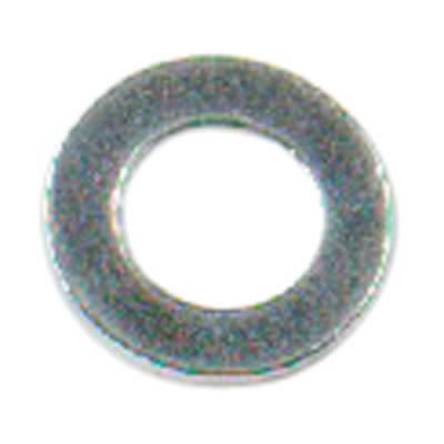 Steel Flat Washer - M4 - Bright Zinc Plated - Pack 100