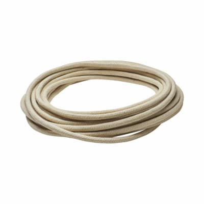 Waxed Cotton Sash Cord - 7mm - 10m Knot