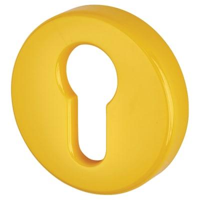 Hoppe Paris Coloured Nylon Euro Profile Escutcheon 52 x 9mm - Golden Yellow