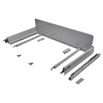 Blum TANDEMBOX ANTARO Pan Drawer - BLUMOTION Soft Close - (H) 203mm x (D) 450mm x (W) 1200mm - Grey