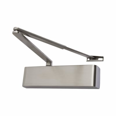 Rutland® TS9205 Door Closer - Satin Stainless Steel