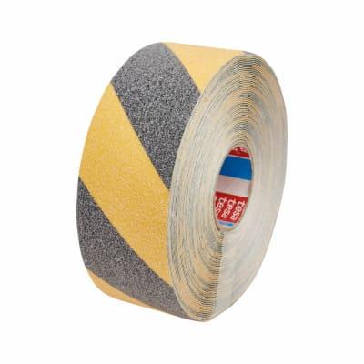 Tesa 60951 Safe Footing Anti-Slip Tape - 50mm x 15m - Black / Yellow
