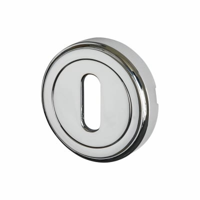 M Marcus Escutcheon - Keyhole - Polished Chrome