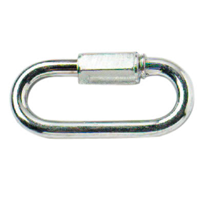 Quick Link - 8mm - Zinc Plated - Pack 10