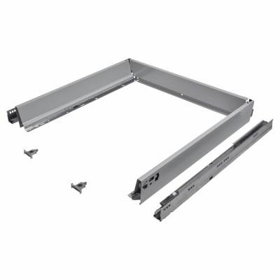Blum TANDEMBOX ANTARO Drawer Pack - BLUMOTION Soft Close - (H) 84mm x (D) 650mm x (W) 600mm - Grey