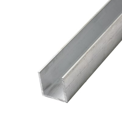 2000mm Channel - 25 x 25 x 3mm - Aluminium