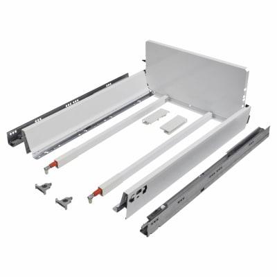 Blum TANDEMBOX ANTARO Pan Drawer - BLUMOTION Soft Close - (H) 203mm x (D) 650mm x (W) 500mm - White