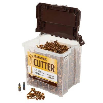 Reisser Cutter Tub - 4.0 x 30mm - Pack 1500