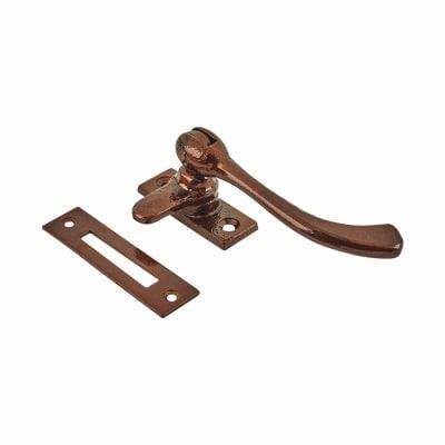 Olde Forge Pear Drop Window Fastener - Bronze