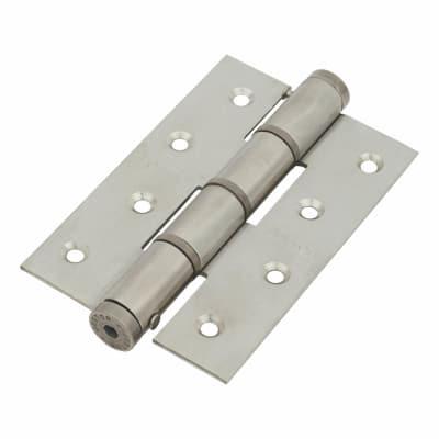 Architectural Single Action Spring Hinge - 120mm - Satin Stainless Steel
