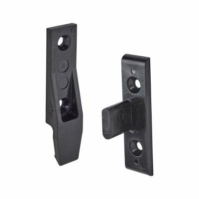 Keku Drop-on Clip - Frame and Panel Pack - Black - Pack 10
