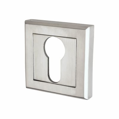 Morello Escutcheon - Euro - Satin Chrome