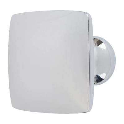 Rayon Cabinet Knob - Polished Chrome