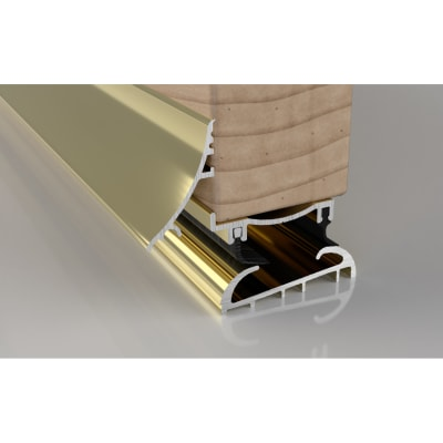 Stormguard Trimline 20 2-Part Threshold - 914mm - Gold