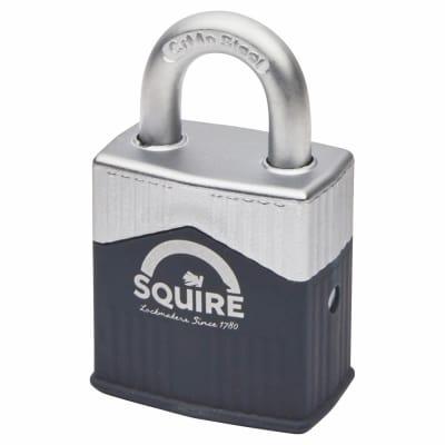 Squire Warrior Open Shackle Padlock - 45mm