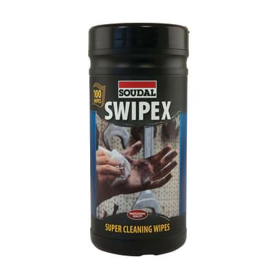 Soudal Swipex Heavy Duty Wipes - 100 Tub
