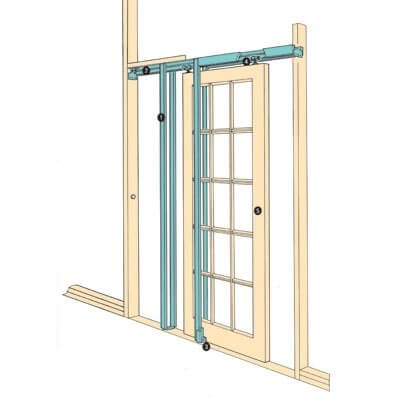Coburn Hideaway Pocket Door Kit - 915mm Maximum Door Width