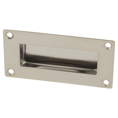 Altro Rectangular Flush Handle - 51 x 102mm - Polished Stainless Steel