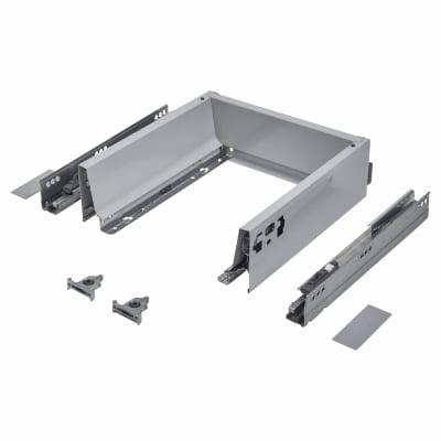 Blum TANDEMBOX ANTARO Drawer Pack - BLUMOTION Soft Close - (H) 84mm x (D) 270mm x (W) 400mm - Grey