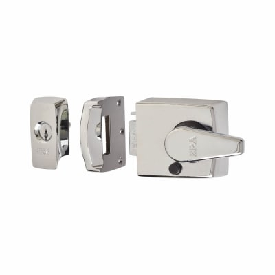 ERA® BS8621:2007 Keyless Egress Nightlatch - 60mm Backset - Polished Chrome