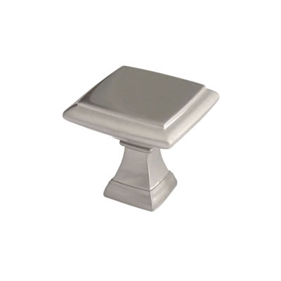 Crofts & Assinder Wellington Mazak Cabinet Knob - 32mm - Brushed Nickel