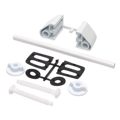 Toilet Seat Fitting Kit - White