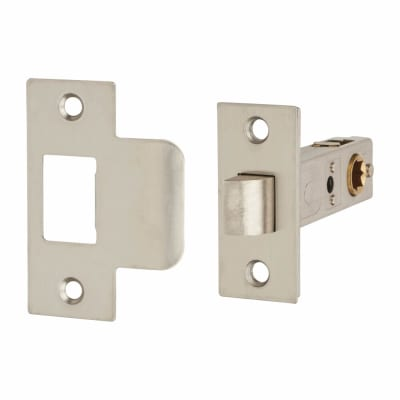 Passage Latch - 65mm Case - 57mm Backset - Satin Stainless Steel