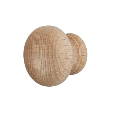 Touchpoint Cabinet Knob - 35mm - Beech