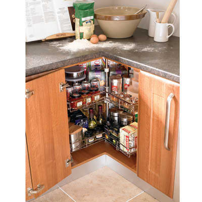 3/4 Carousel Set, to suit 900 x 900mm Cabinet