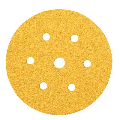 Mirka Gold Disc 7 Hole - 150mm - Grit 180 - Pack 100