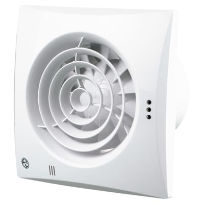 Blauberg Calm Extractor White Fan Humidity - 100mm