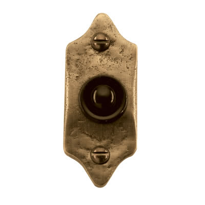 Louis Fraser Bell Push - 75 x 31mm - Oil Rubbed Bronze