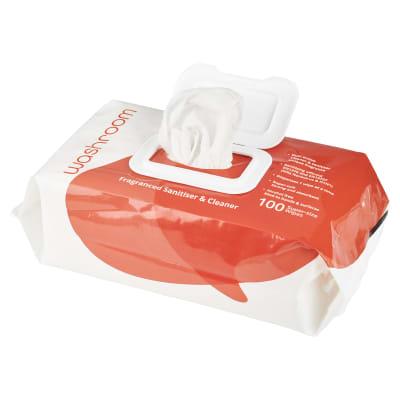 Uniwipe Washroom Wipes - Pack of 100
