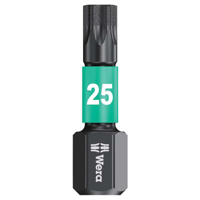 Wera Impaktor Torx Bit - Single - TX25 x 25mm