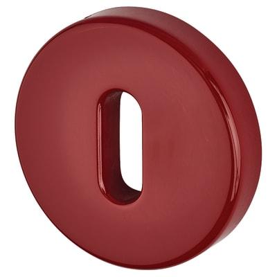 Hoppe Paris Coloured Nylon Keyhole Escutcheon 52 x 9mm - Rouge Red