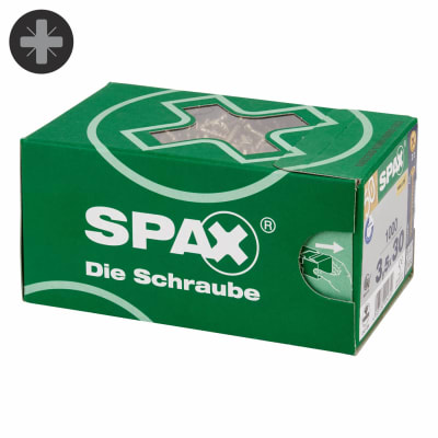 Spax Value Pack - 3.5 x 30mm - Pack 1000